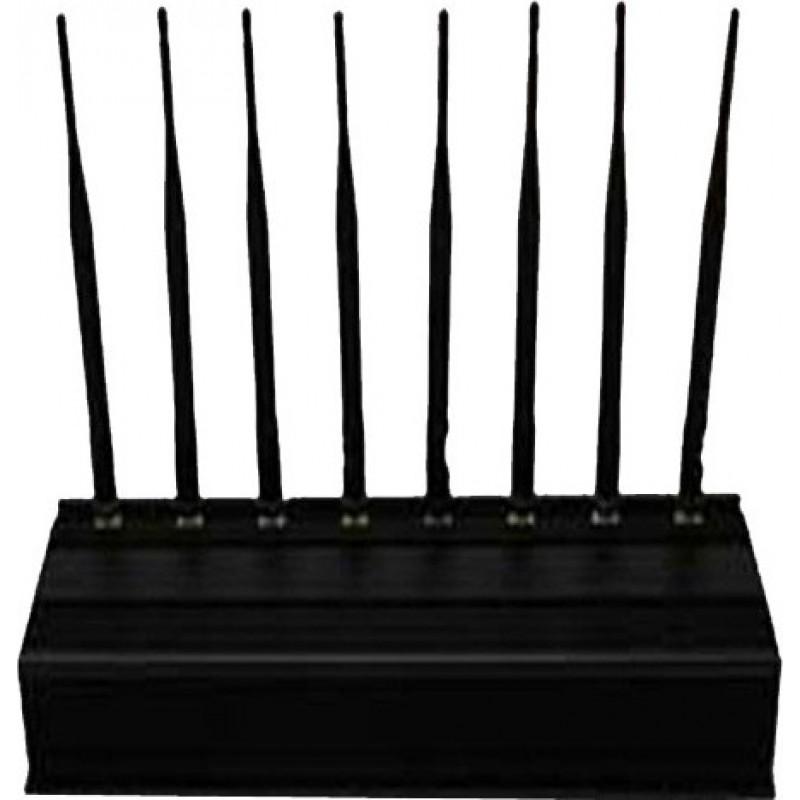 Блокаторы мобильных телефонов 8 антенн. Полнополосный блокиратор наружного сигнала
