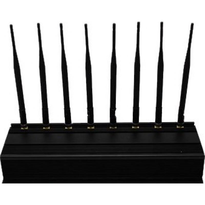 Handy-Störsender 8 Antennen. Full-Band Outdoor-Signalblocker