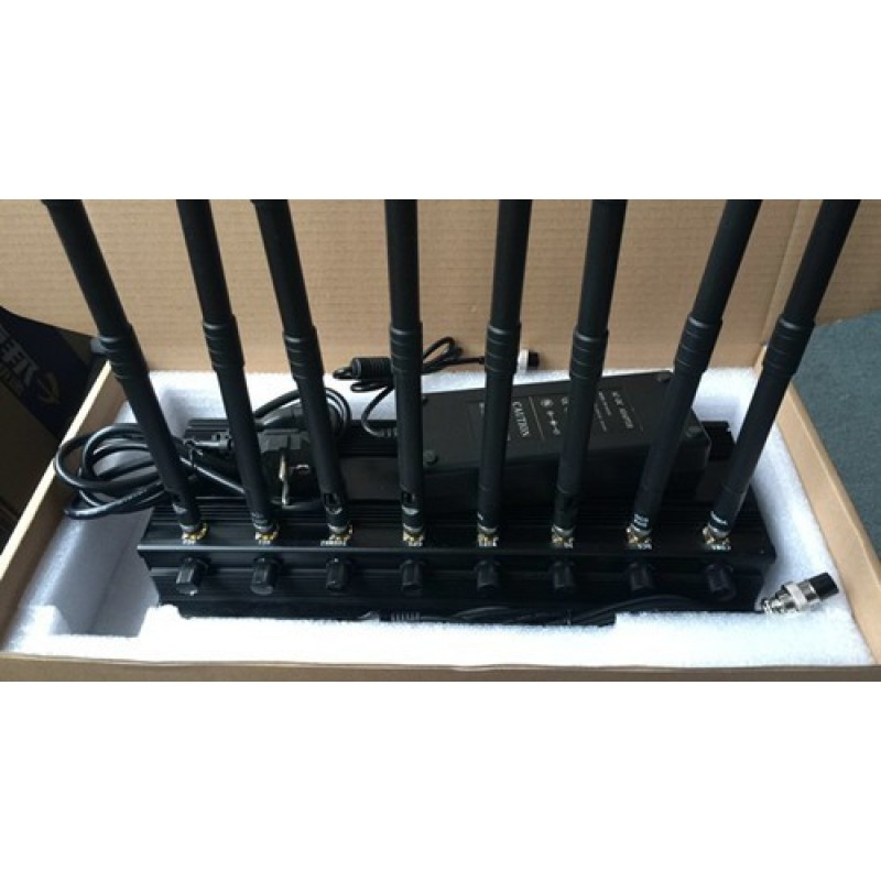 Cell Phone Jammers 8 Antennas. Full-Band outdoor signal blocker