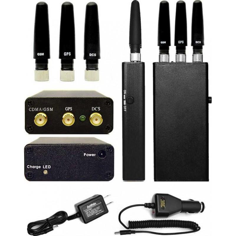 48,95 € Envoi gratuit | Bloqueurs de Téléphones Mobiles Bloqueur de signal multifonction portable Handheld