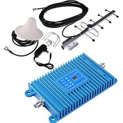 Mobile phone signal booster. Amplifier and antenna Kit