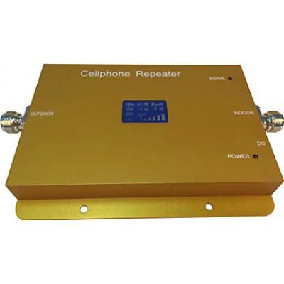 Amplificateur de signal de téléphone mobile. Affichage LCD