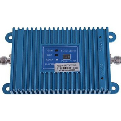Dual band mobile phone signal booster