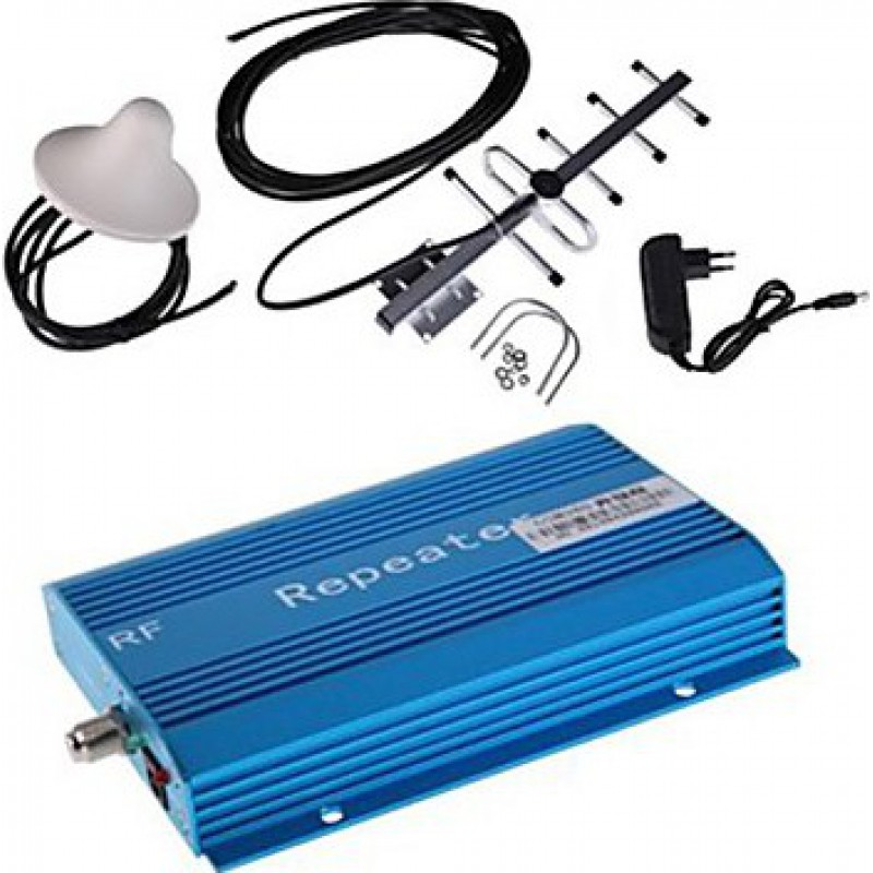 85,95 € Envío gratis | Amplificadores de Señal Amplificador de señal de teléfono móvil. Amplificador y kit de antena GSM