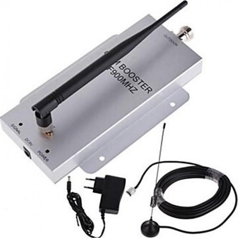 Усилители Мини усилитель сигнала сотового телефона. Комплект повторителя и антенны GSM