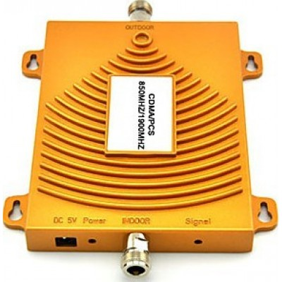 Dual band mobile phone signal booster. Repeater and power kit