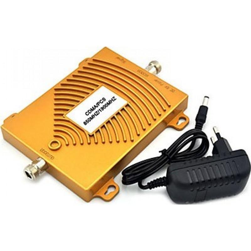 Amplificateurs de Signal Amplificateur de signal bi-bande pour téléphone portable. Répéteur et kit d'alimentation CDMA