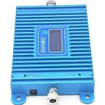 102,95 € 送料無料 | シグナルブースター 携帯電話の信号ブースター。屋内アンテナと吸盤アンテナ。 10mケーブル。液晶ディスプレイ CDMA