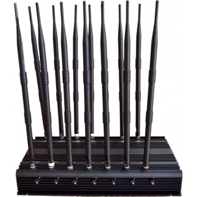 513,95 € Envío gratis | Bloqueadores de Teléfono Móvil 14 bandas. Bloqueador de señal de control remoto GSM