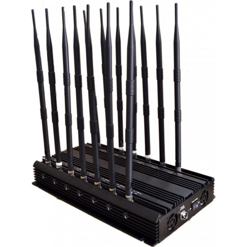 513,95 € Free Shipping | Cell Phone Jammers 14 bands. Remote control signal blocker GSM