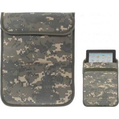 32,95 € Envio grátis | Acessórios para Inibidores Estilo de camuflagem. Bolsa de bloqueio de sinal para Tablet PC. Bolsa de manga anti-radiação