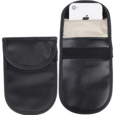 ジャマーアクセサリー 保護放射線バッグ。スマートフォン用信号遮断ケースポーチ