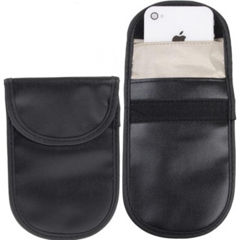 Accessoires d'Inhibiteur Sac de protection anti-rayonnement. Étui à blocage de signaux pour smartphones