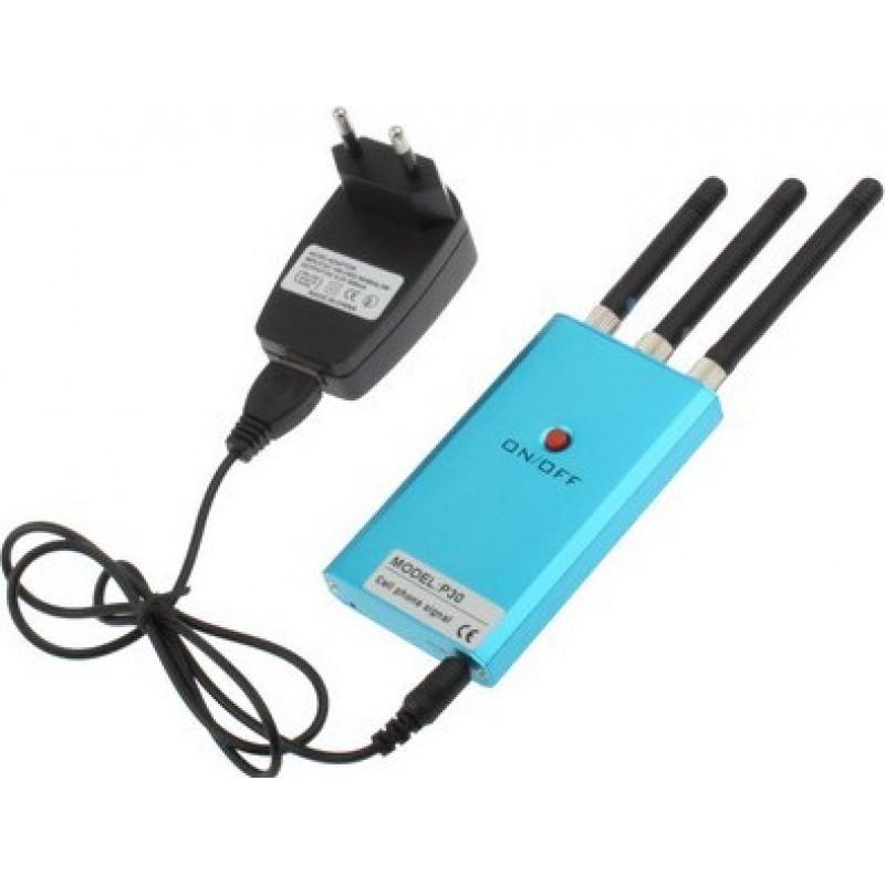 Блокаторы мобильных телефонов Мини портативный блокатор сигналов. Зеленого цвета GSM Portable 10m