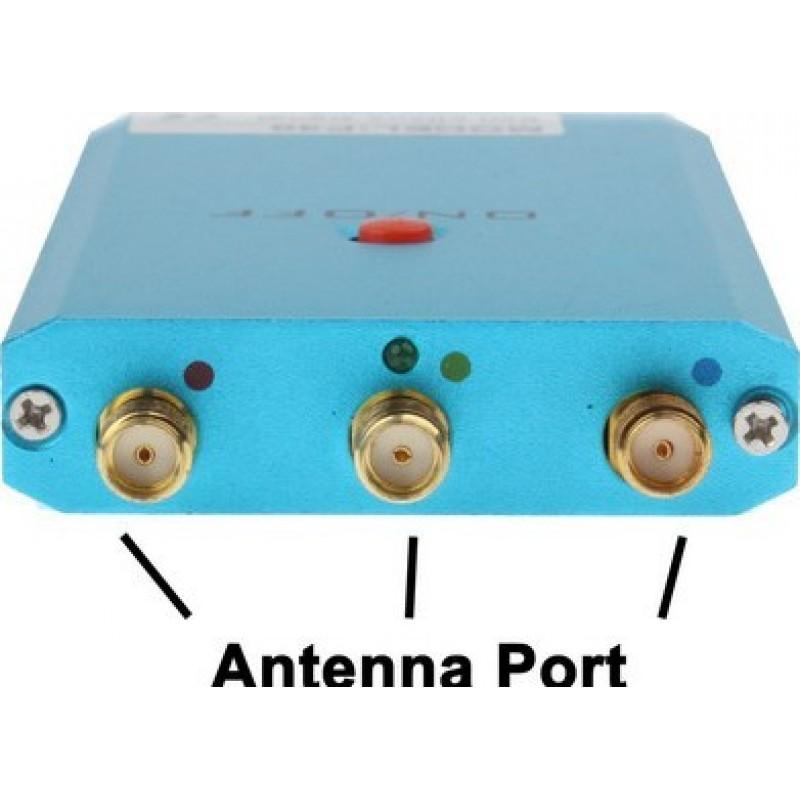 Bloqueurs de Téléphones Mobiles Mini bloqueur de signal portable. Couleur verte GSM Portable 10m