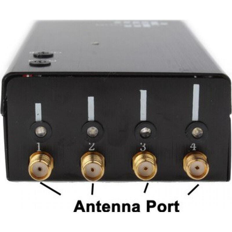 129,95 € Kostenloser Versand | Handy-Störsender Tragbarer Signalblocker. Schwarze Farbe GSM Portable 20m