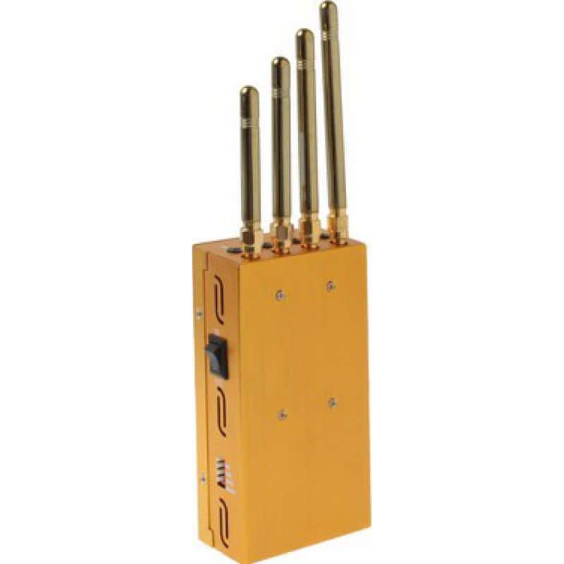 129,95 € Envoi gratuit | Bloqueurs de Téléphones Mobiles Bloqueur de signal portable. Couleur or GSM Portable