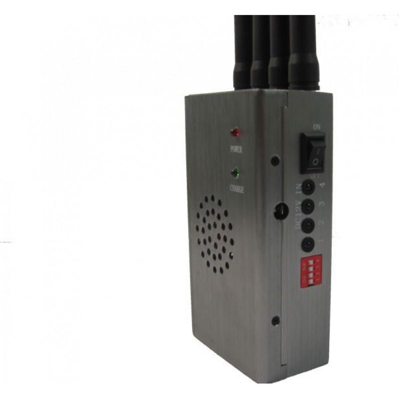 122,95 € Kostenloser Versand   Handy-Störsender Drahtloser tragbarer Signalblocker mit Tragetasche Portable