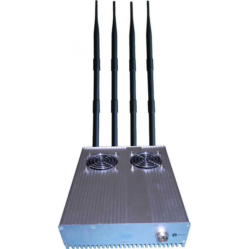 手机干扰器 20W室外桌面信号拦截器。可拆卸电源 3G Desktop