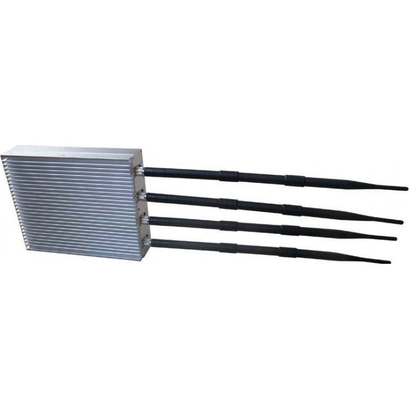 Cell Phone Jammers 20W Outdoor desktop signal blocker. Detachable power supply 3G Desktop