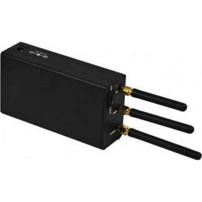 手机干扰器 便携式高功率信号阻断器和扰码器 GSM Portable