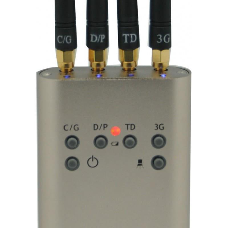 手机干扰器 便携式迷你信号拦截器 GSM Portable