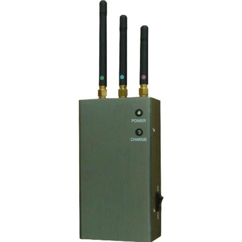 Bloqueurs de Téléphones Mobiles 5 antennes bloqueur de signal