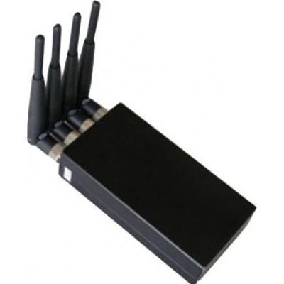 Sensitive and portable 4W signal blocker