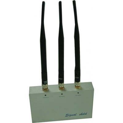 Cell Phone Jammers Desktop signal blocker with remote control GSM Desktop