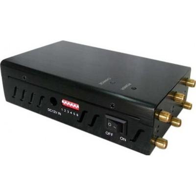 携帯電話ジャマー 選択可能な6つのアンテナ信号ブロッカー 4G