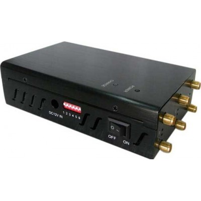 Selectable 6 Antennas signal blocker