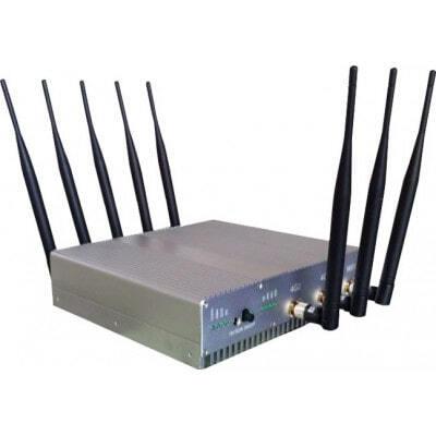 Bloqueurs de Téléphones Mobiles 16W Bloqueur de signal de bureau puissant. 8 antennes Desktop