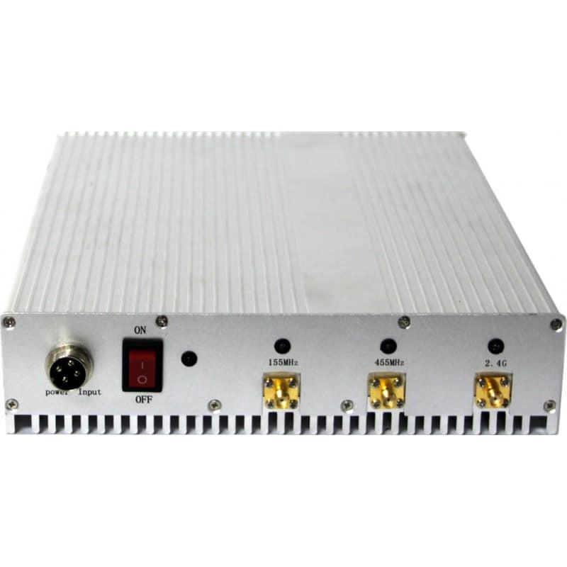 Bloqueurs de Téléphones Mobiles 8 antennes sensibles. Bloqueur de signal VHF