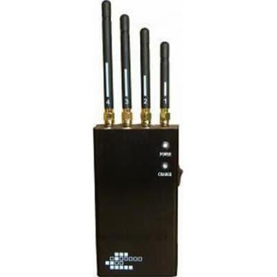 手机干扰器 5频段便携式无线信号拦截器 Portable
