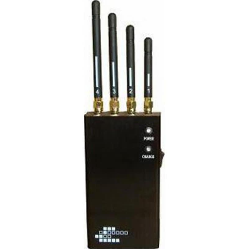 Блокаторы мобильных телефонов 5-полосный портативный беспроводной блокиратор сигналов Portable