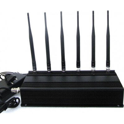 259,95 € Envío gratis | Bloqueadores de Teléfono Móvil bloqueador de señal de 6 antenas 315MHz