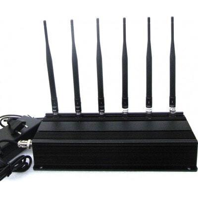 259,95 € Envoi gratuit | Bloqueurs de Téléphones Mobiles 6 antennes bloqueur de signal 315MHz