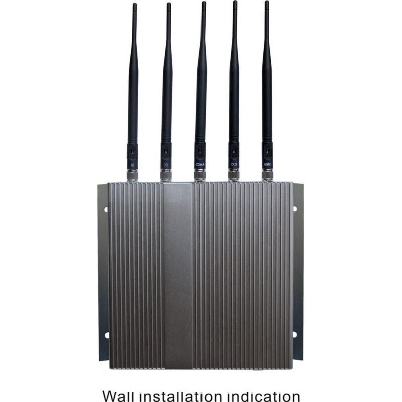 147,95 € Kostenloser Versand | Handy-Störsender 5 Bänder. Signalblocker mit Fernbedienung