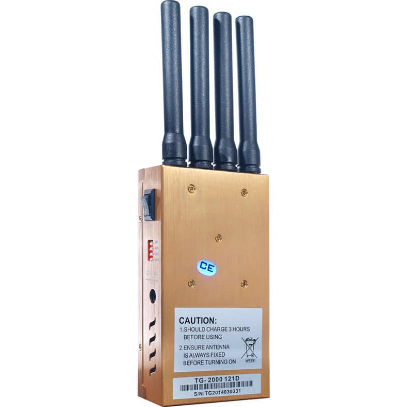 122,95 € Envoi gratuit | Bloqueurs de Téléphones Mobiles Bloqueur de signal portable. 4 bandes GSM Portable