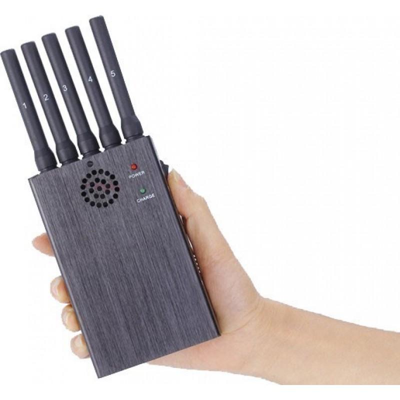135,95 € Kostenloser Versand   Handy-Störsender Handheld-Signalblocker. 5 Bänder und Anti-Tracking 3G Handheld