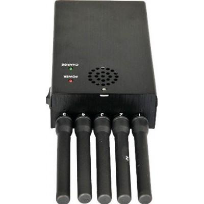 5 антенн. Портативный блокатор сигналов