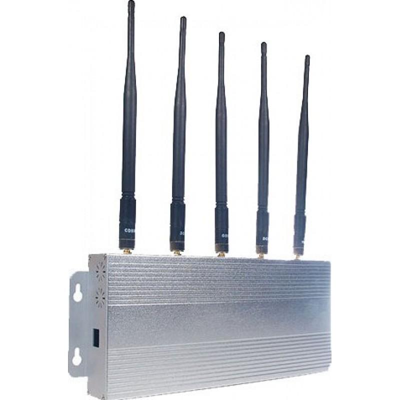 手机干扰器 5个乐队。信号阻断器 GSM