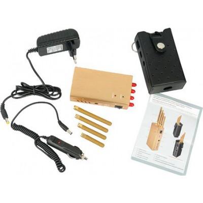 122,95 € Бесплатная доставка | Блокаторы мобильных телефонов Ручной блокатор сигналов 3G Handheld