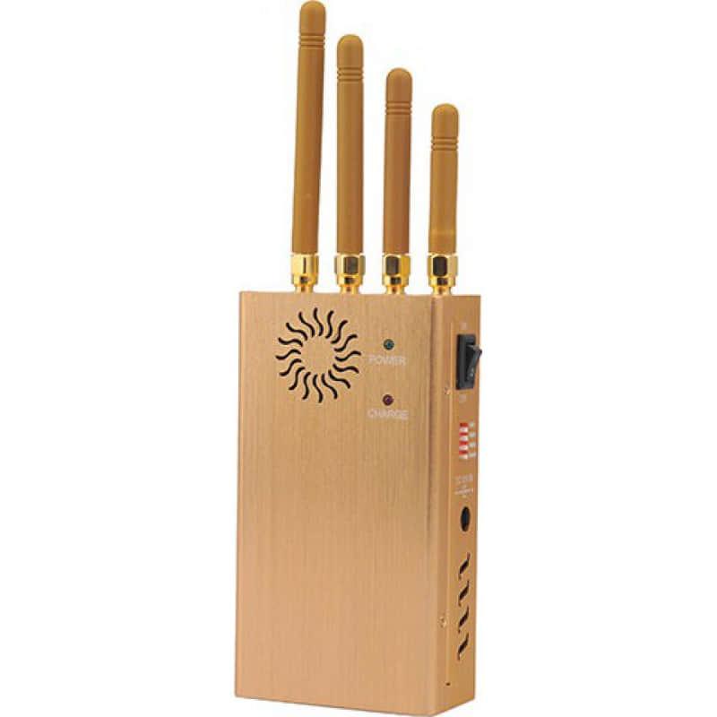 122,95 € 免费送货 | 手机干扰器 手持信号阻断器。 4频段和单频段控制 Handheld