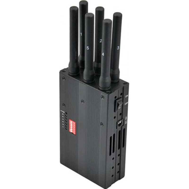 172,95 € Envoi gratuit | Bloqueurs de Téléphones Mobiles Bloqueur de signal portable. 6 groupes 3G Handheld