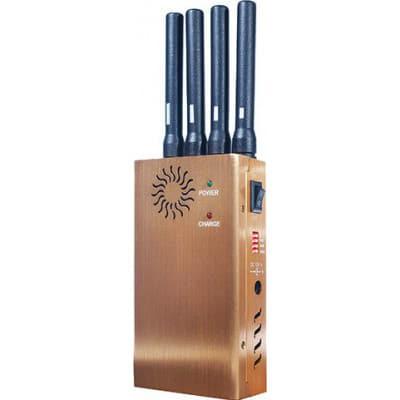 116,95 € Бесплатная доставка | Блокаторы мобильных телефонов Высокоэффективный портативный блокатор сигналов 3G Portable