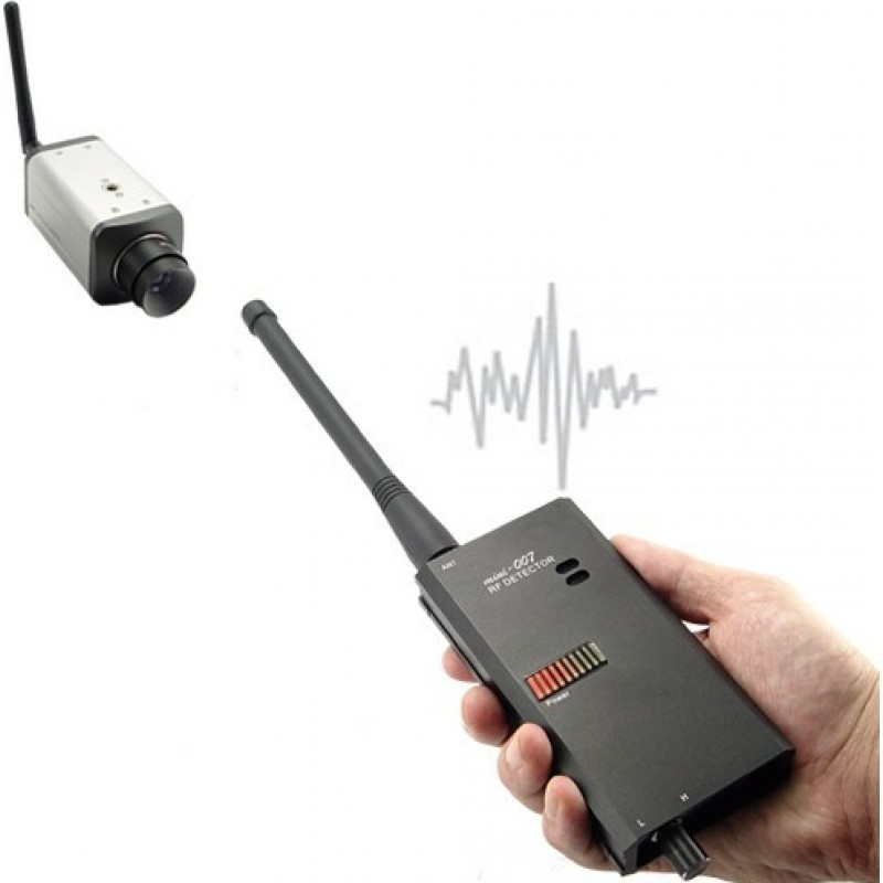 111,95 € Free Shipping | Signal Detectors Wireless video and audio signal detector. Wireless detector. Privacy protection anti-spy device