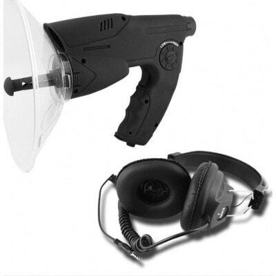 49,95 € Envio grátis   Detectores de Sinal Orelha biônica. Alcance de 100 metros. Fones de ouvido de qualidade
