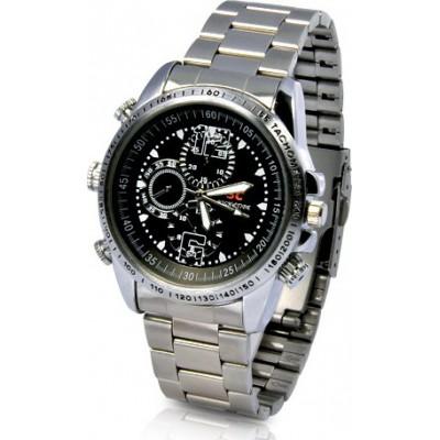 39,95 € Envio grátis | Relógios de Pulso Espiã Relógio de câmera espiã. À prova d'água. Alta definição 8 Gb 480P HD