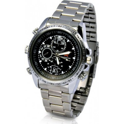 39,95 € Бесплатная доставка | Шпионские наручные часы Шпионские камеры смотреть. Водонепроницаемый. Высокое разрешение 8 Gb 480P HD